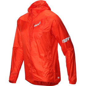 inov-8 Windshell - Veste course à pied Homme - orange/rouge